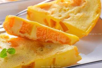 芒果鸡蛋饼 宝宝辅食食
