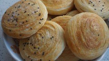 《千层糖酥饼》烤箱、平底锅的做法步骤图