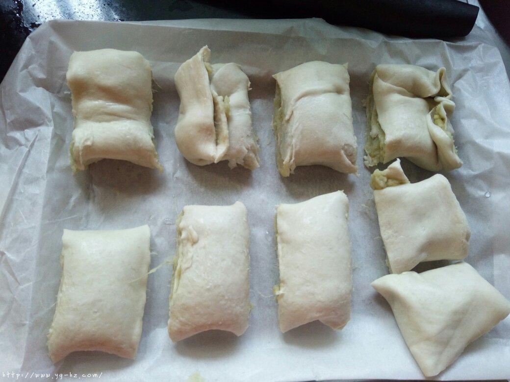 烤箱版手抓饼红薯的做法 步骤2