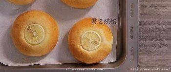 特特特别清新的柠檬酸奶面包,我爱!