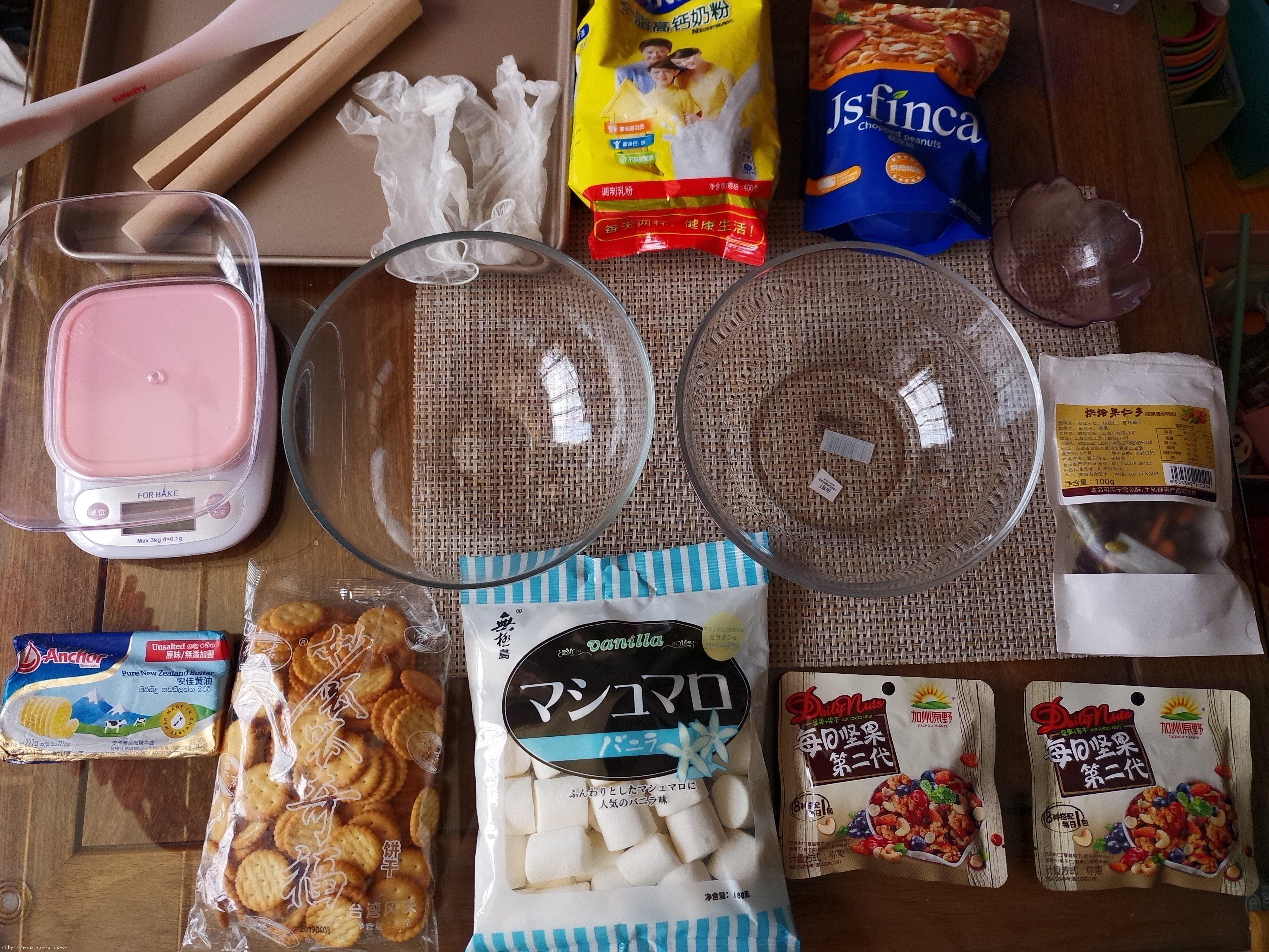 网红雪花酥(不是很甜版本)的做法 步骤1