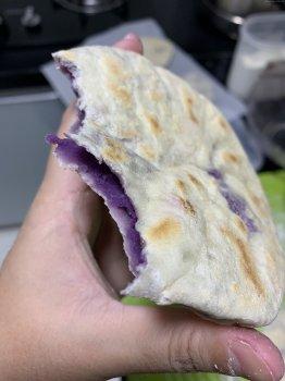 无油低脂紫薯饼的做法步