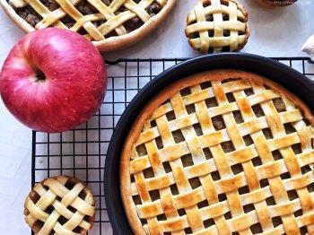 肉桂苹果派(9寸披萨盘)的做法步骤图