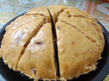 红糖粘米粉发糕的做法步骤图,怎么做好吃