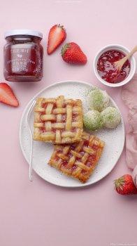 手抓饼草莓派的做法视频_手抓饼草莓派的做法步骤