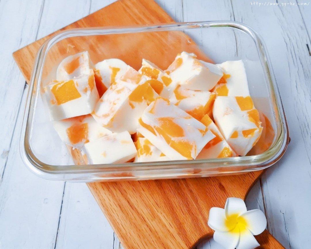 椰奶芒果布丁(超简单快手)的做法 步骤5