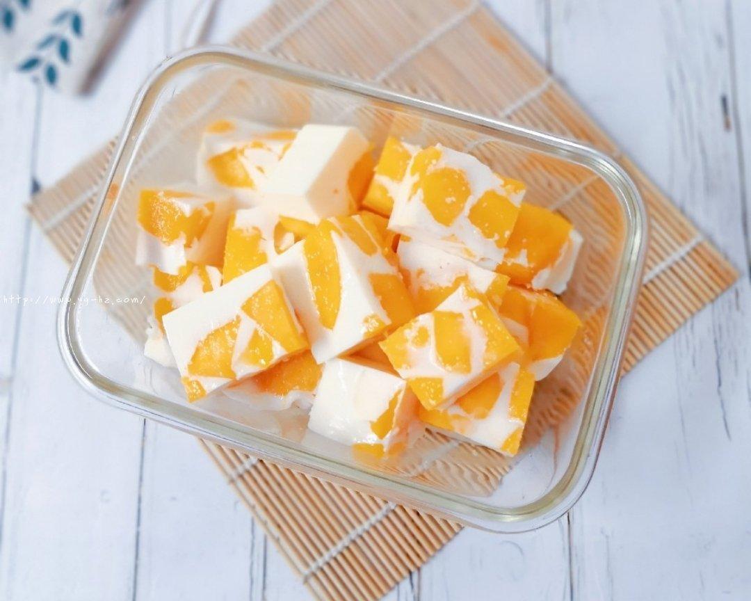 椰奶芒果布丁(超简单快手)的做法 步骤6
