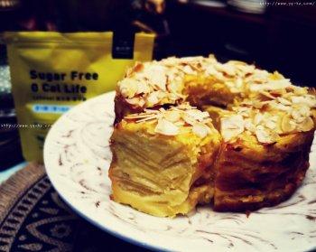 零卡糖的千层苹果蛋糕的做法步骤图
