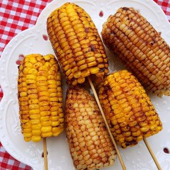 烤玉米{空气炸锅版}的做法步骤图