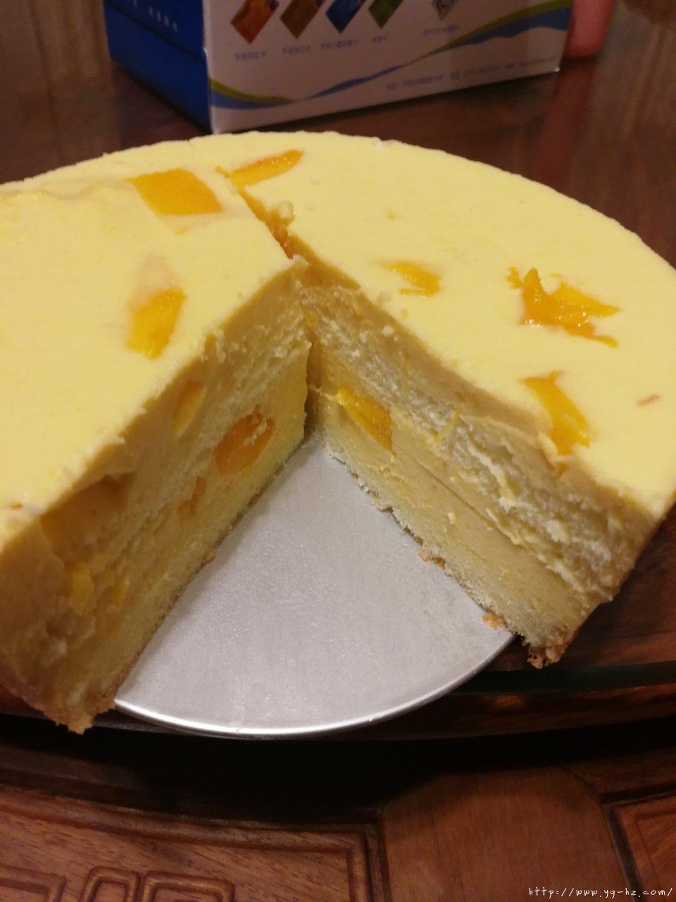 十分钟搞定芒果慕斯蛋糕的做法 步骤7