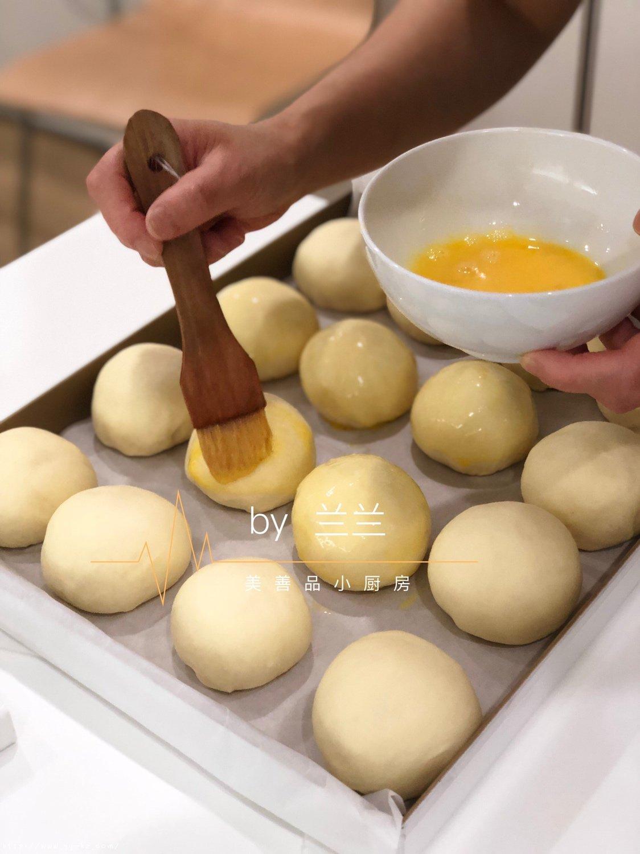 一次发酵小餐包+牛肉汉堡的做法 步骤8