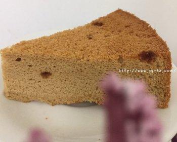 红糖戚风蛋糕的做法步骤