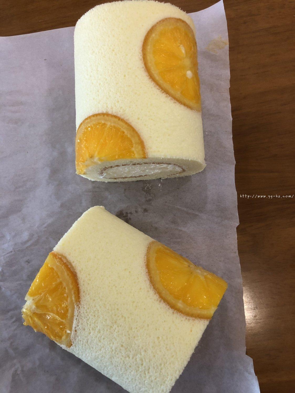 香橙蛋糕卷(好看好香好吃)的做法 步骤27