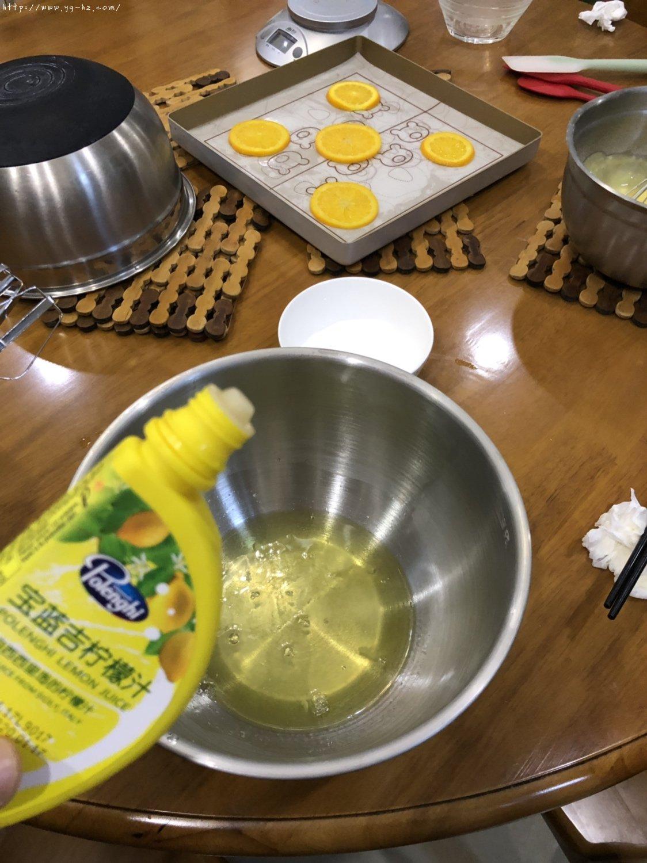 香橙蛋糕卷(好看好香好吃)的做法 步骤6