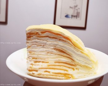 简单好吃的芒果千层蛋糕