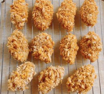 薯片鸡翅(烤箱版)的做法步骤图