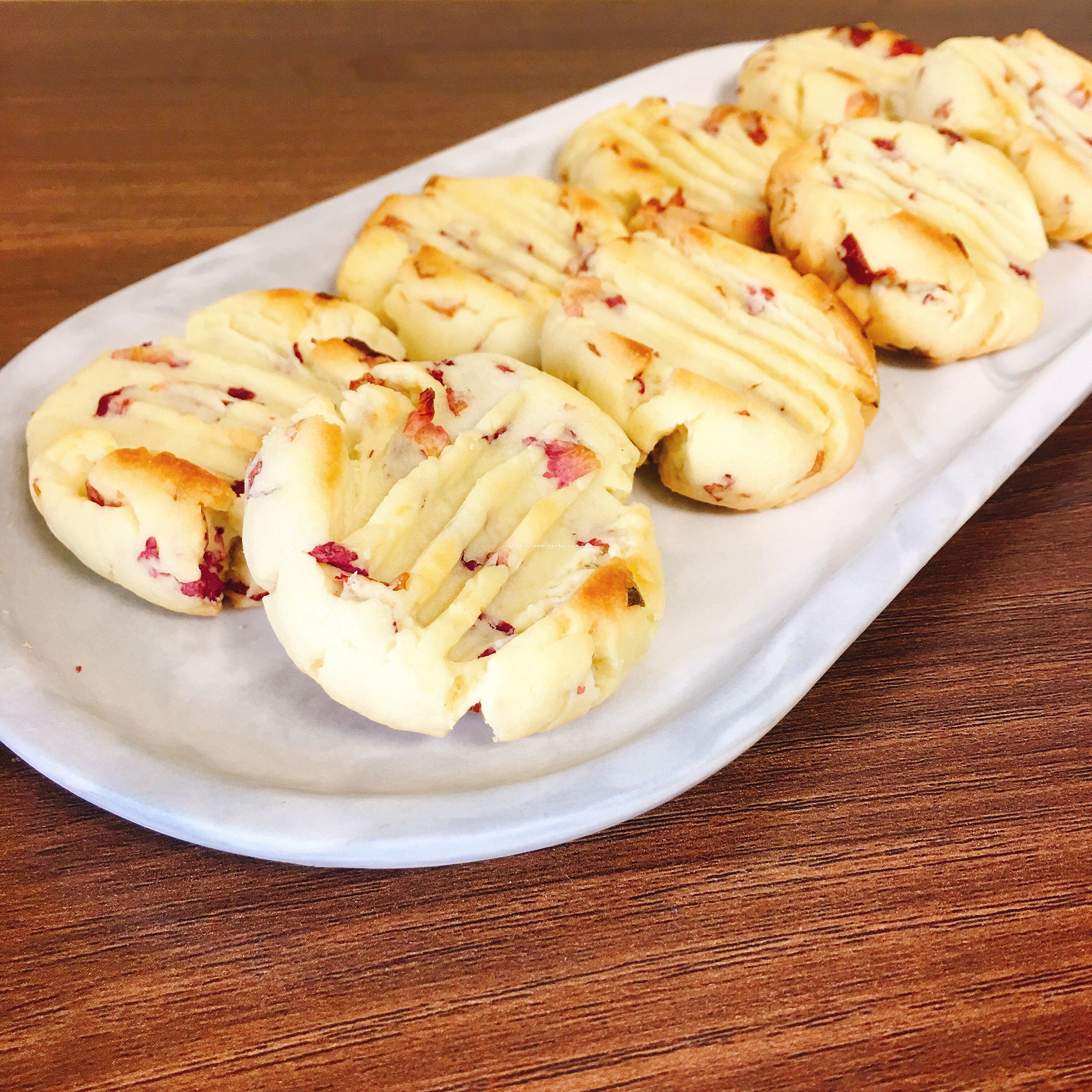 玫瑰花小饼干的做法