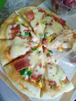免烤箱披萨电饼铛十分钟