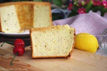 香蕉米粉戚风蛋糕的做法