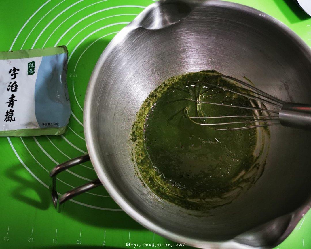 抹茶蛋糕卷的做法 步骤1