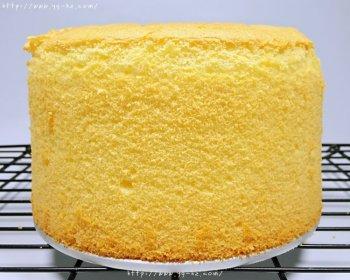 6寸加高戚风蛋糕·附6-12寸普通蛋糕尺寸的做法步骤图