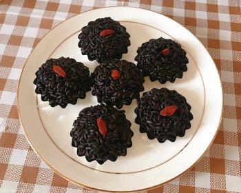 简单易学的广东点心黑米糕的做法步骤图