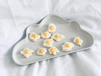 小小荷包蛋溶豆的做法步骤图,怎么做好吃