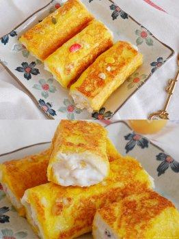 5分钟快手早餐酸奶吐司卷低脂不胖的做法步骤图