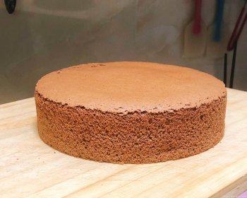 可可戚风蛋糕 8寸的做法步骤图