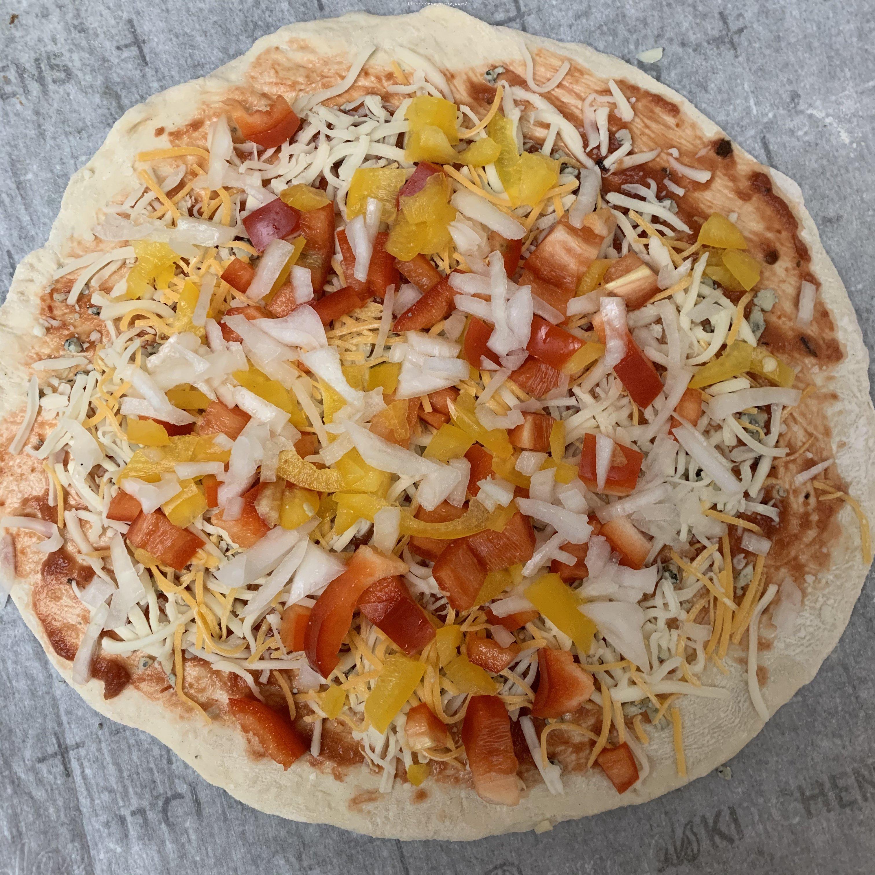 新手披萨饼皮(能开餐厅那种)的做法 步骤9