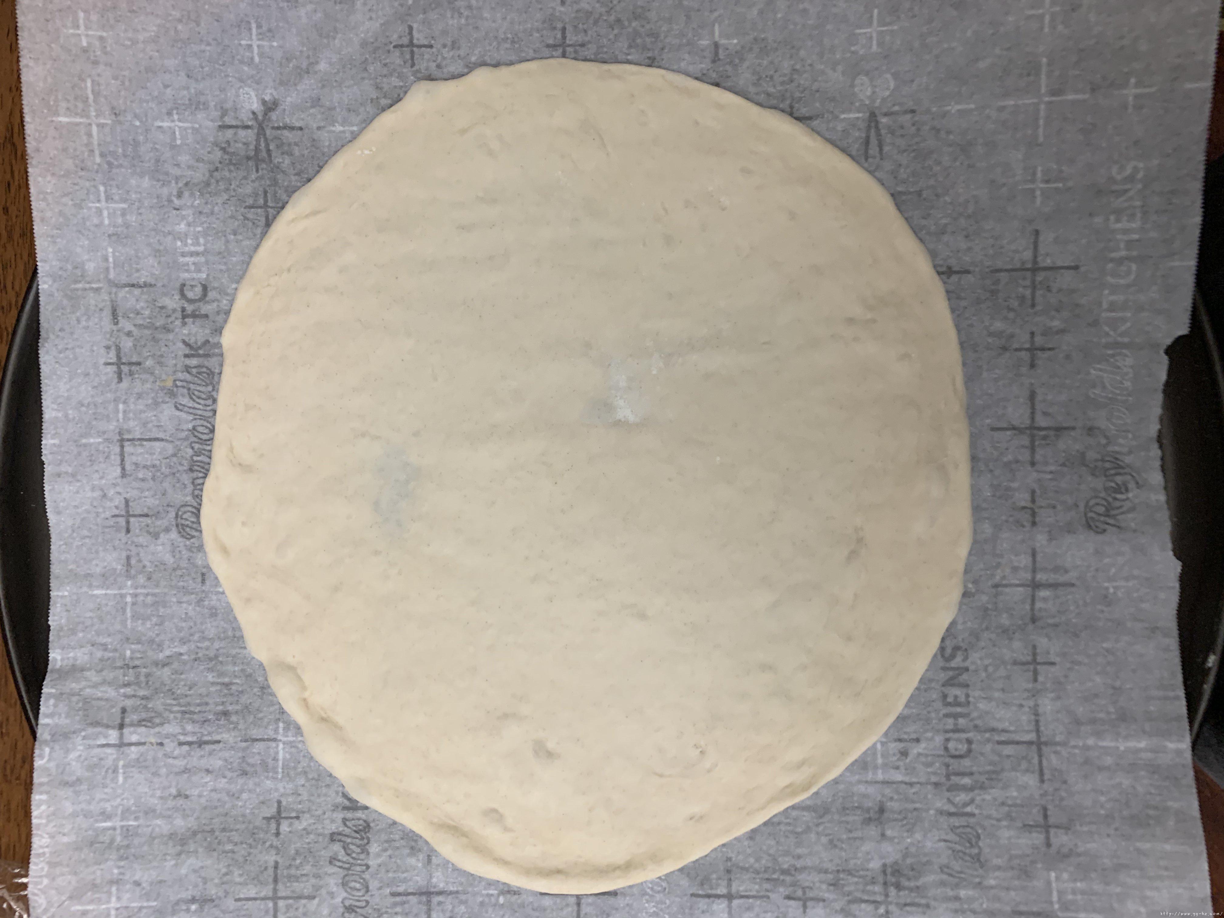 新手披萨饼皮(能开餐厅那种)的做法 步骤8
