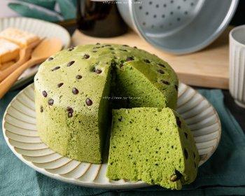 抹茶酸奶蒸蛋糕(无油版