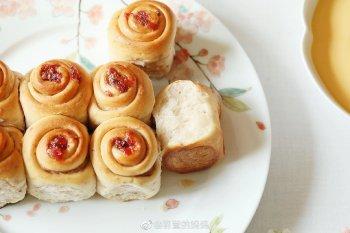 玫瑰面包的做法步骤图,