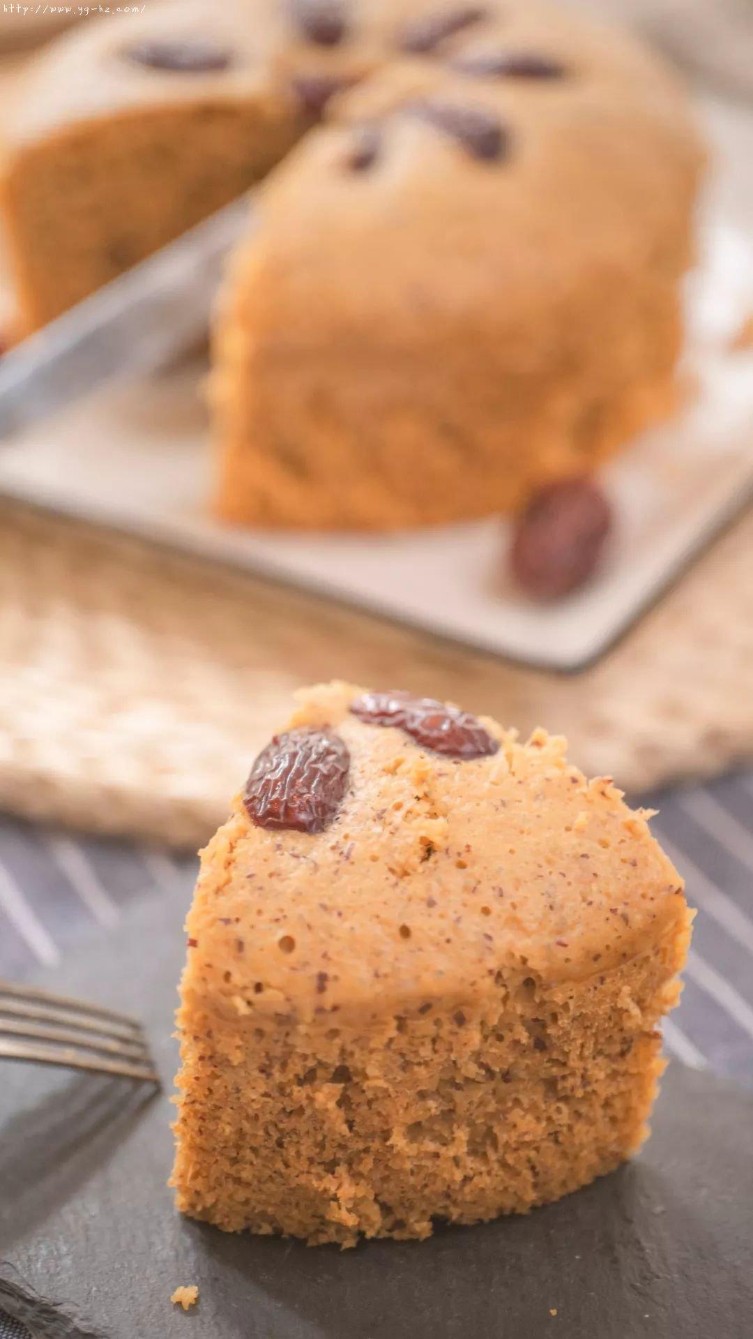 补铁、补血、香甜蓬松的红枣发糕,不需揉面,蒸一蒸就可以了的做法 步骤21