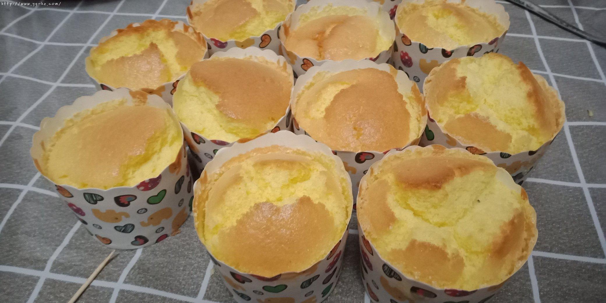 全蛋蛋糕的做法 步骤8