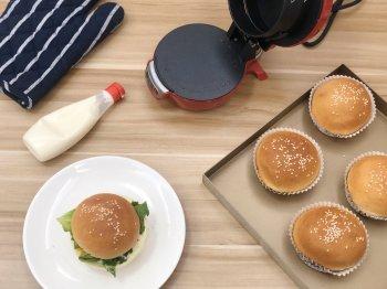 自制健康汉堡|营养快手早餐的做法步骤图