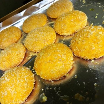 简易新手烤箱版南瓜饼的