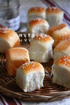蜂蜜果酱小面包的做法步骤图,怎么做好吃