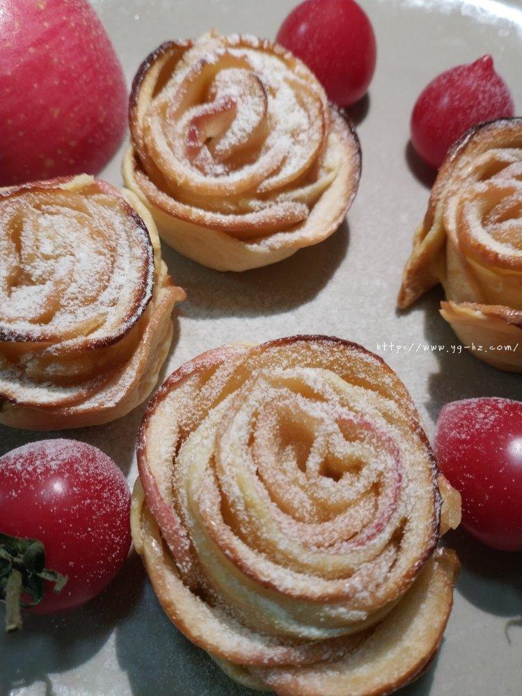 玫瑰花苹果派的做法 步骤9
