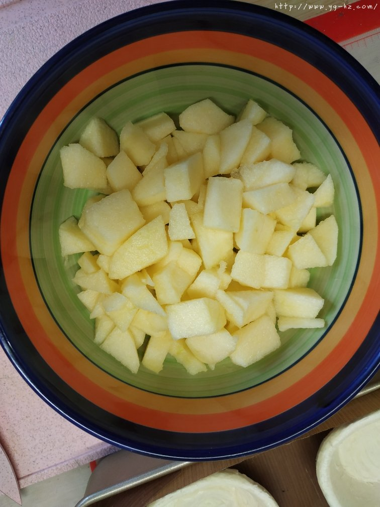 简单好做零失败的苹果酥(耗时30分钟的美味,快点做起来!)的做法 步骤4