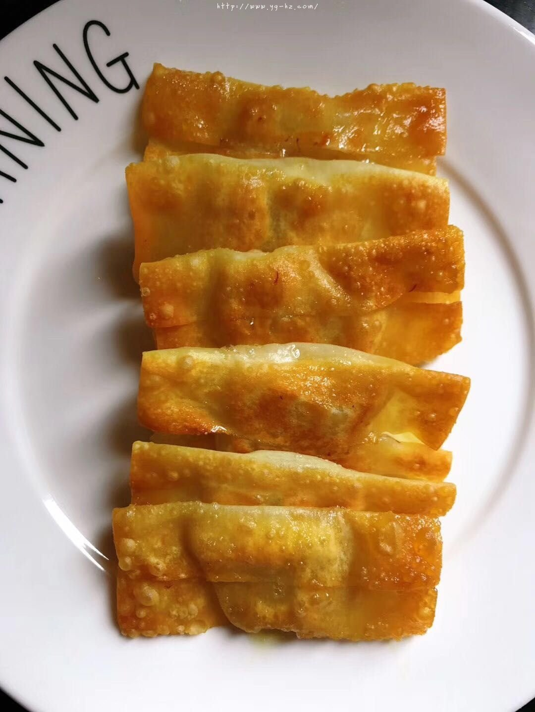 香蕉派(饺子皮版)的做法 步骤7