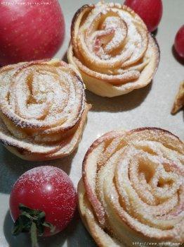 玫瑰花苹果派的做法步骤