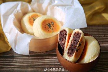日式红豆包(低油低糖版