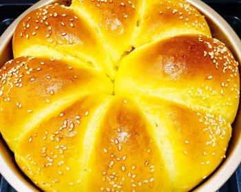 拉丝大面包的做法步骤图