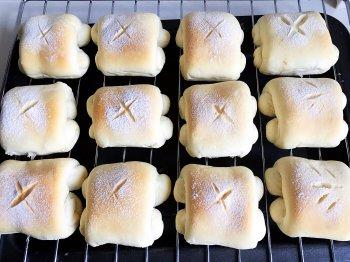 奶香迷你小面包的做法步