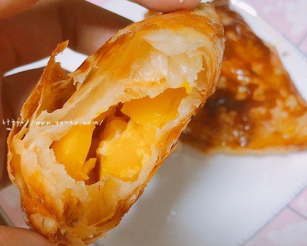 手抓饼芒果派「超简单」的做法