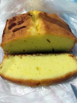 超好吃的咸味牛油蛋糕(