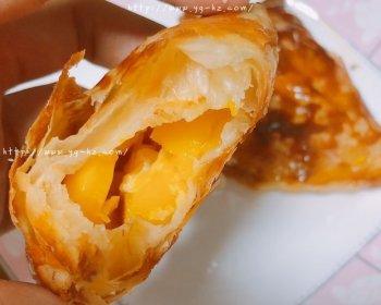 手抓饼芒果派「超简单」
