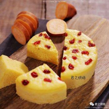 很简单的红薯发糕