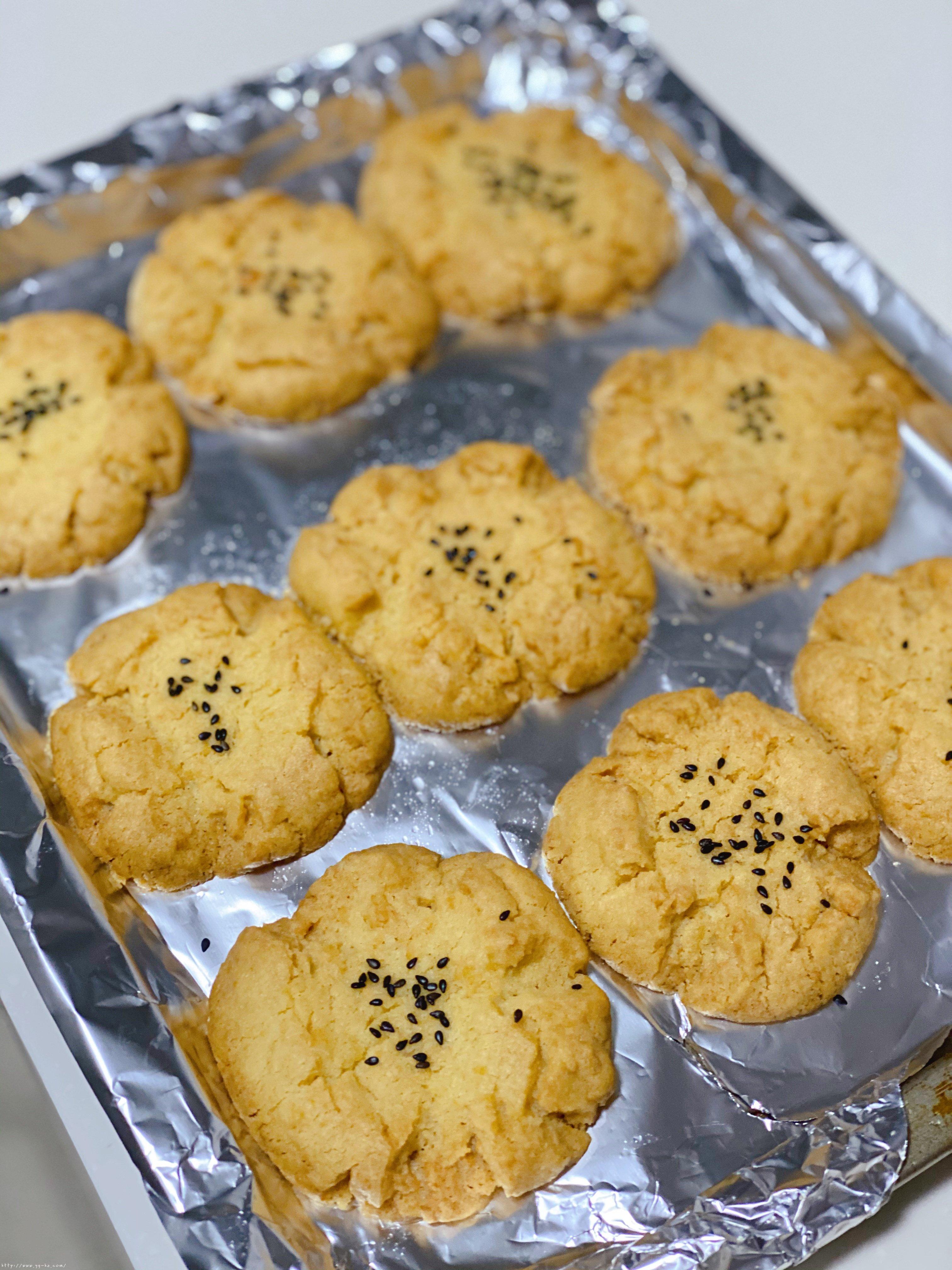 酥掉渣的桃酥(快速版)的做法 步骤4